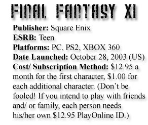 FF Info Box