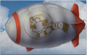 The Blimp Pilots Logo