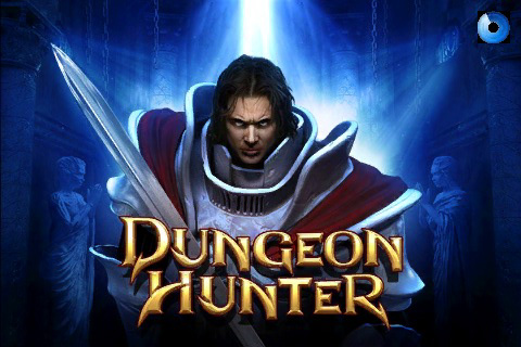 Dungeon Hunter Title Screen