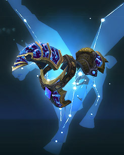 My horse from the Twisting Nether, Josie.
