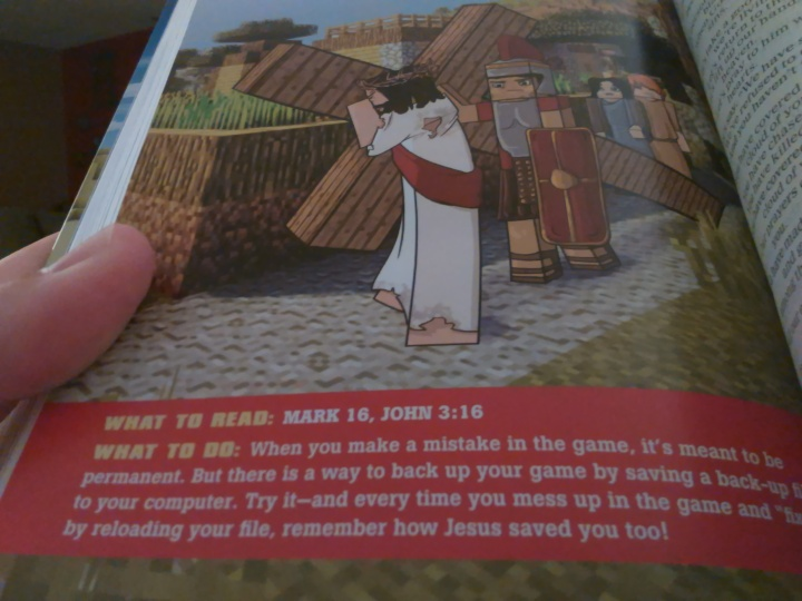 Minecraft Jesus