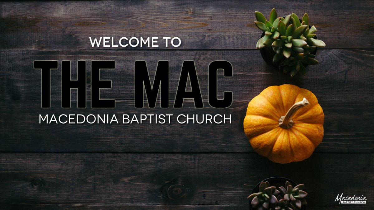 Welcome to The MAC