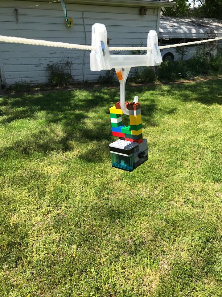 Backyard aerial tram