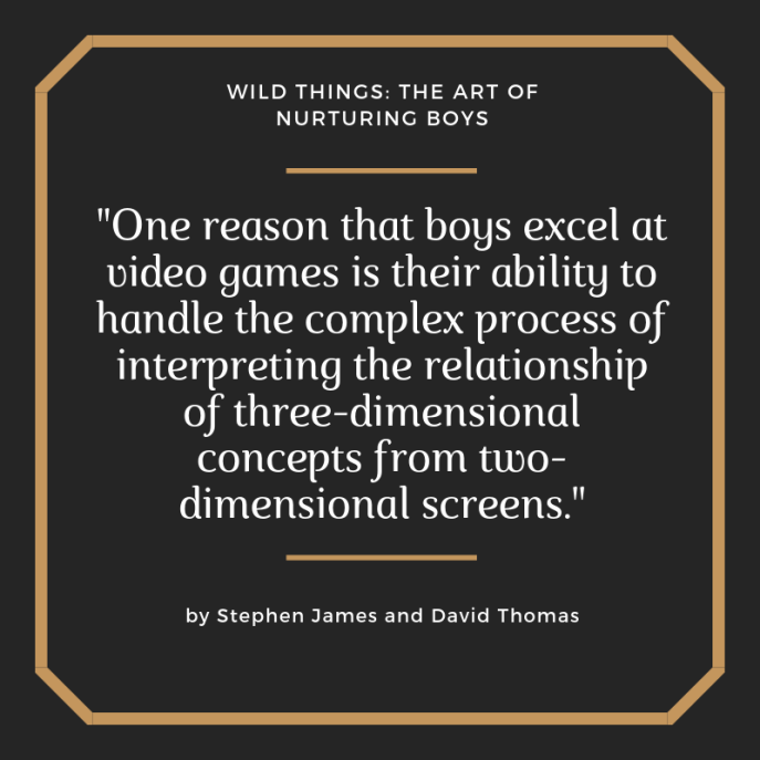 Video Games and Boys
