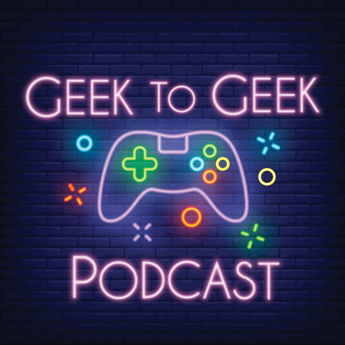 Geek to Geek Podcast logo