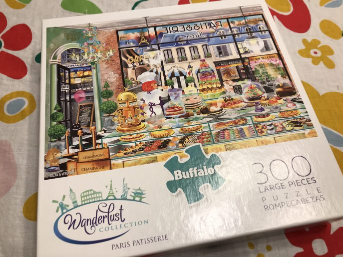 Paris Patisserie Puzzle