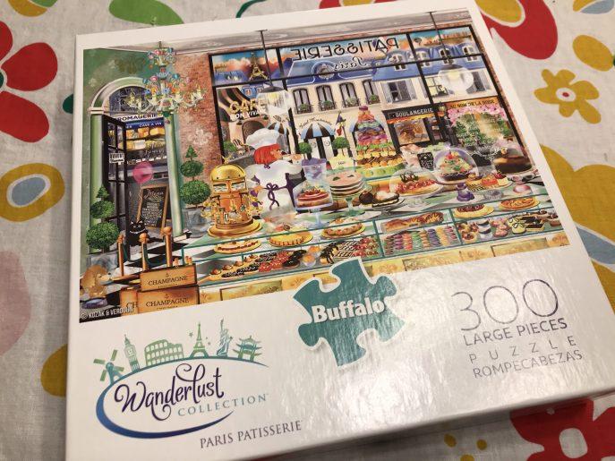 Paris Patisserie Puzzle