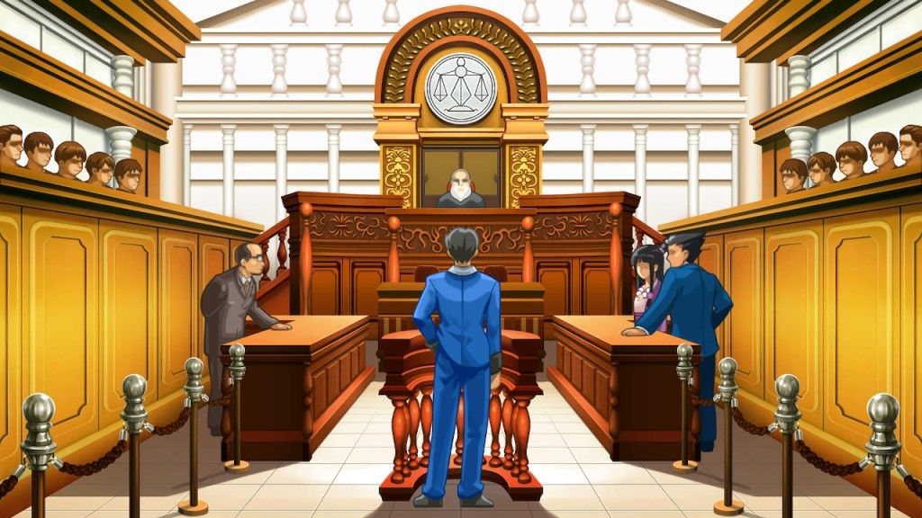 Just a typical courtroom.