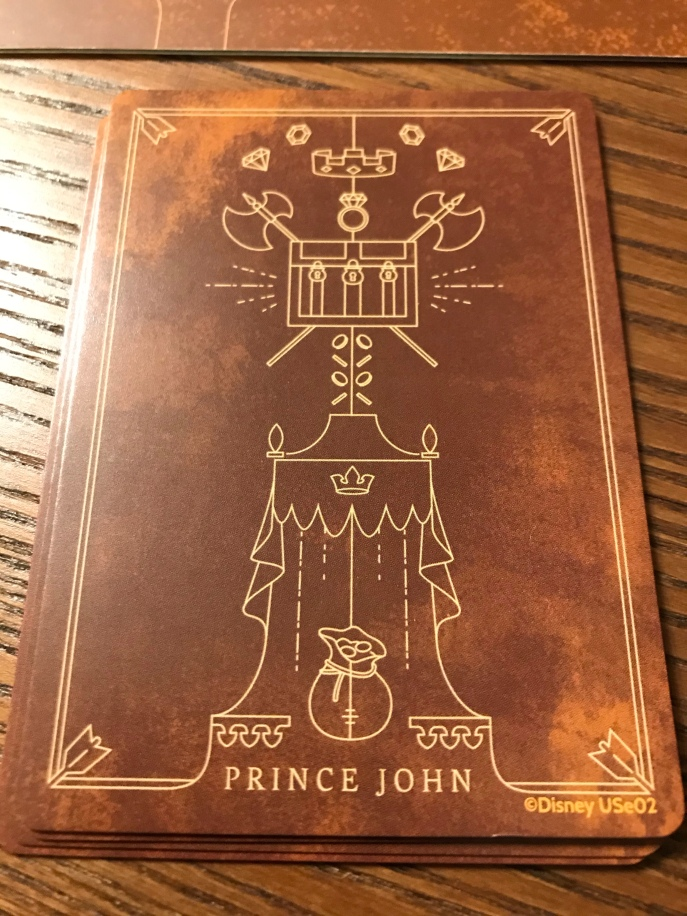 Disney Villainous - Prince John Card Back